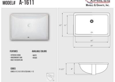 A-1611 (Spec Sheet)