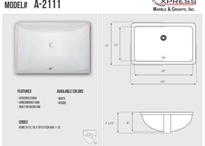 A-2111 (Spec Sheet)
