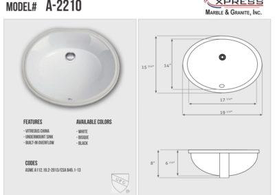 A-2210 (Spec Sheet)
